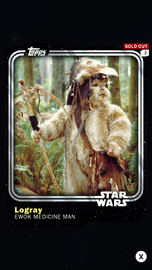 Logray - Ewok Medicine Man - Base Series 1