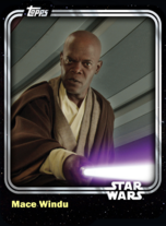 Mace Windu - Jedi Master (ROTS) - Base Series 1