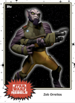 Zeb Orrelios - Base Series 4 - Rebels