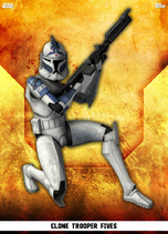 Clone Trooper Fives - Rank & File