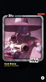 Cad Bane - Bounty Hunter - Base Series 1