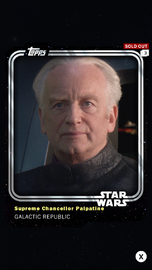 Supreme Chancellor Palpatine - Galactic Republic - Base Series 1