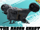 The Razor Crest - Star Wars: The Mandalorian - Illustrated Outlaws