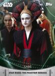Sabé - Topps' Women of Star Wars