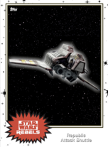 Republic Attack Shuttle - Base Series 4 - Rebels