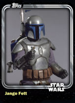 Jango Fett - Bounty Hunter - Base Series 1
