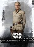 Commander D'Acy - Star Wars: The Rise of Skywalker Series 1 Base