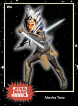 Ahsoka Tano - Base Series 4 - Rebels