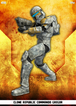 Clone Republic Commando Gregor - Rank & File