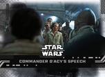 Commander D'Acy's Speech - Star Wars: The Rise of Skywalker Series 1 Base