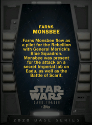 Farns Monsbee Base 2020 Back
