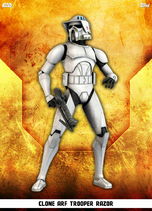 Clone ARF Trooper Razor - Rank & File