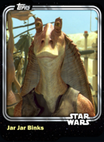 Jar Jar Binks - Gungan - Base Series 1
