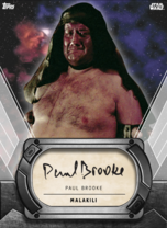 Paul Brooke (Malakili) - Signature