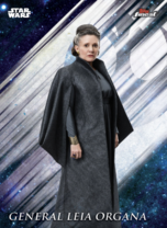 General Leia Organa - Topps Finest 2019 - Base