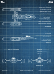 Blueprints-06-Y-wingStarfighter-Blue-Front