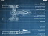 Y-wing Starfighter - Blueprints