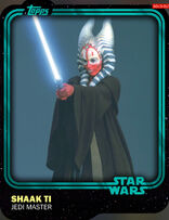 Shaak Ti - Jedi Master - Base Series 1
