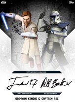 Obi-Wan Kenobi & Captain Rex - Rank & File