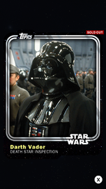 Darth Vader - Death Star Inspection - Base Series 1