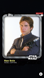 Han Solo - Rebel Captain - Base Series 1
