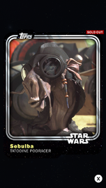 Sebulba - Tatooine Podracer - Base Series 1