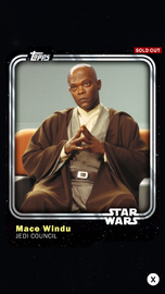 Mace Windu - Jedi Council - Base Series 1