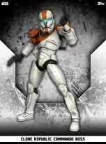 Clone Republic Commando Boss - Rank & File