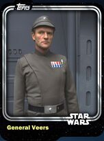 General Veers - Galactic Empire - Base Series 1
