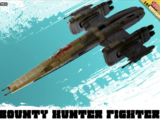 Bounty Hunter Fighter - Star Wars: The Mandalorian - Illustrated Outlaws