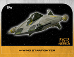 A-wing Starfighter 5 - Star Wars Rebels: Retro