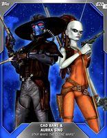 Cad Bane & Aurra Sing - Base Series 3