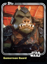 Gamorrean Guard - Jabba's Security - Base Series 1
