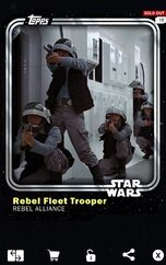 Rebel Fleet Trooper - Rebel Alliance - Base Series 1