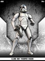 Clone ARF Trooper Razor - Rank & File