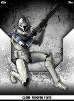 Clone Trooper Fives - Rank & File