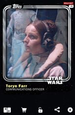 Toryn Farr - Communications Officer - Base Series 1