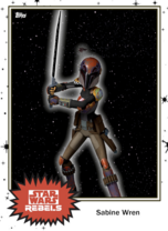 Sabine Wren - Base Series 4 - Rebels