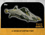 A-wing Starfighter 2 - Star Wars Rebels: Retro