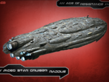 MC85 Star Cruiser Raddus - Ships & Vehicles: Age of Resistance