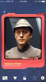Admiral Piett - Imperial Officer - Base Series 1