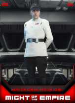 Inspector General Bozeden Jeems - Might of the Empire