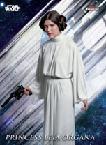 Princess Leia Organa - Topps Finest 2019 - Base