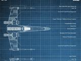 X-wing Starfighter - Blueprints