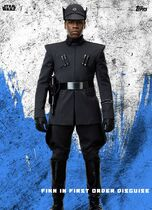 Finn in First Order Disguise - Star Wars: The Last Jedi