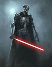 Sith droid