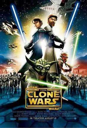 Star Wars The Clone Wars Movie Poster