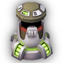 Burst Turret Lvl 9 - Rebel