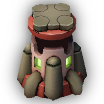 Burst Turret Lvl 6 - Rebel