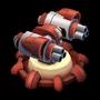 Rocket Turret Lvl 3 - Republic